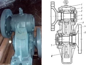 Редуктор компресора КТ-6 електровоза серії ВЛ-80