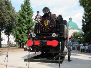 Урочисте відкриття фестивалю та відреставрованого паровозу
