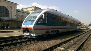 Ремонт рейкового автобуса 620М PESA